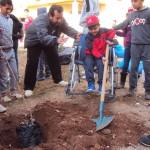 Jawad un enfant de 10 ans handicapé moteur a répondu à l'appel du ministre de l'environnement