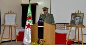 Baptisation de l'Ecole d'application des services de la santé militaire de Sidi Bel-Abbès au nom du chahid Yahia Farès