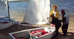 Sidi Bel Abbes  met ses voiles au lac Sidi Mohamed Benali.