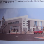 Le futur siège de la  Radio Locale de Sidi Bel Abbes.