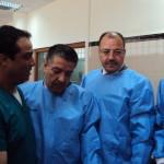 Le ministre  de la Santé Boudiaf Abdelmaled ,des hauts plateaux  de Sidi Bel Abbes  déclare sa satisfaction