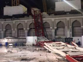 Au moins 107 morts, dont un algérien, dans la chute d'une grue à La Mecque