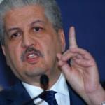 Sellal : l'Etat ne laissera pas les personnes impliquées dans la tragédie nationale de créer un parti politique