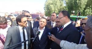 Visite du ministre de l'industrie à l'ENIE  de Sidi Bel Abbes