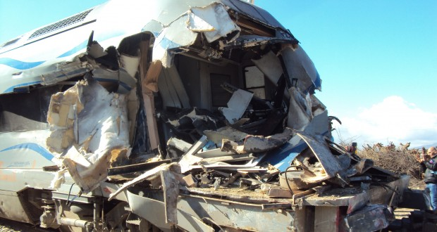 Le train voyageurs reliant Sidi Bel Abbes –Oran  n'est pas arrivé à destination suite à un accident.