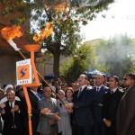 Le chef de l'exécutif a  mis en service la première pression en gaz naturel  à la commune de Ben Badis.