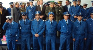 Cérémonie de remise des grades du corps de la police de Sidi Bel Abbes.