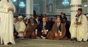 Sidi Bel Abbes celebre la veillee religieuse du Mawlid Ennabaoui en presence du ministre des affaires  religieuses et du Waqf