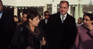 La ministre de l'éducation nationale en visite à la wilaya de Sidi Bel Abbes.