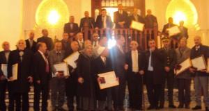 Le wali  de Sidi Bel Abbes Honore les ex présidents d' A.P.C.  des communes de la wilaya
