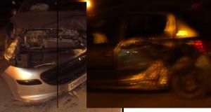 Deux véhicules se sont percutés au niveau du viaduc « LAZZARI »