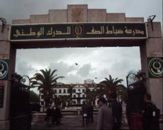 Visite guidée à l'école des sous officiers de gendarmerie de Sidi Bel Abbés