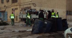 Journée de volontariat à la cité Bouha Ghalem ex « sorecor. »
