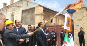 A Sidi Bel Abbés, Khabri ministre de l'énergie et des mines satisfait de son secteur.  !