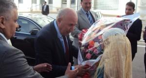 Le ministre du Tourisme  en visite à Sidi Bel Abbés.