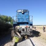 Le train en provenance de Tlemcen percute un tracteur et tue.