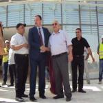 Le chef de l'exécutif de la wilaya de Sidi Bel Abbés  visite les projets structurants