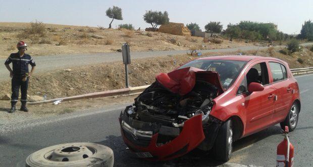 La gravité des accidents  de circulation augmente