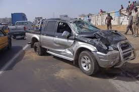 Accident de voiture fortuit et mortel sur la R.N 94.