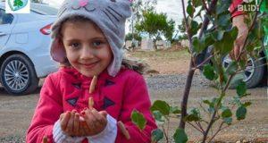 L'association Jeunesse volontaire reboise 1000 arbustes en Hommage aux handicapés du monde.