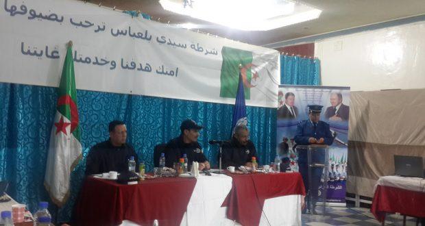 La sûreté de wilaya de Sidi Bel Abbés  dresse son  bilan d'activité de l'année 2016 .