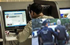 Pris  en flagrant délit par la police ,  Un internaute fait échec aux tentatives  d'agression.