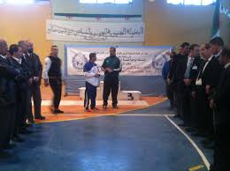 Championnat régional inter-police de judo et karaté-do, à Sidi-Bel-Abbès.