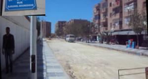 La voie principale reliant la Cité Adim Fatiha au quartier Larbi Ben Mhidi en phase de réhabilitation .