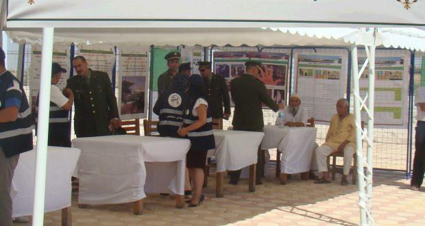 Journée de Sensibilisation organisée  au lac sidi –Mohamed-Benali par le groupement de gendarmerie de Sidi Bel Abbes
