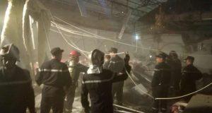 Effondrement du faux plafond de la salle des fêtes « Kasr Bey ».
