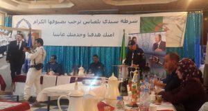 la police de Sidi Bel Abbés  rend hommage  aux journalistes.