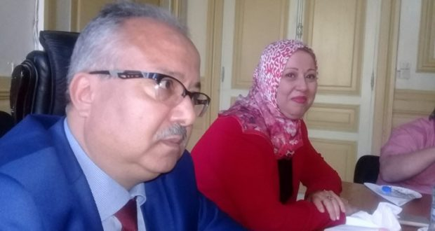 Mr. Driss Khoudja  nouveau directeur de la santé et de la population (D.S.P.)