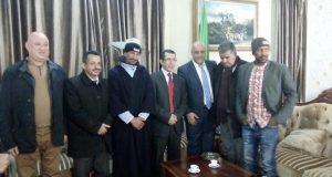 Le wali de Sidi Bel Abbés  octroie un logement social au sinistré   Khatir Ali .