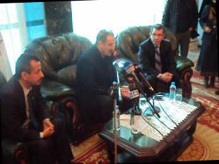 Le ministre de la communication Djamel Kaouane  l'hôte de Sidi Bel Abbés.