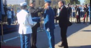 Sortie de la 4eme promotion «B»  d'officiers de police de l'école Tayebi  Mohamed.de Sidi Bel Abbes