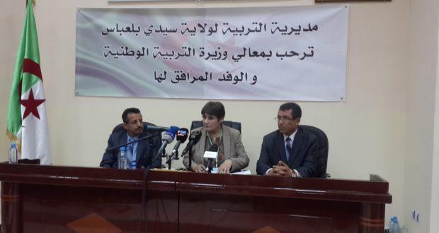 La ministre de l'éducation nationale Benghabrit  veut réhabiliter l'école Sonis de Sidi Bel Abbés pour un I.F.P.E.P