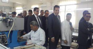 Visite de travail et d'inspection du ministre du commerce à Sidi Bel Abbes.