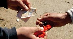 Saisie de comprimés psychotropes « ecstasy » par la police du 14ème  Sureté Urbaine