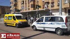 Intervention de la brigade de police chargée de la surveillance et la sécurité de la ligne du tramway à la station Benhamouda
