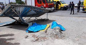 Sidi Hammadouch. Un véhicule percute  un abri bus en plein fouet causant deux morts et plusieurs blessés