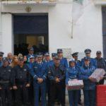 La  police de Sidi Bel Abbés célèbre la Journée internationale de la femme.