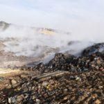 Un second crime écologique  vient de se déclarer au C.E.T. Centre d'Enfouissement Technique  des déchets de Telagh.