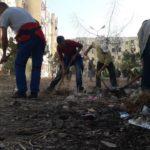 Campagne de sensibilisation et de volontariat des travailleurs communaux UGTA de Sidi Bel Abbès, à la cité 1500 logts Sorecor.