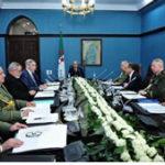 Communiqué de la réunion du Haut conseil de sécurité sur le Coronavirus