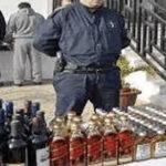 شرطة سيدي بلعباس تحجز 1450   وحدة خمر.