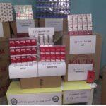 شرطة سيدي بلعباس تحجز أكثر من 6000 علبة سجائر من مختلف الأنواع