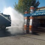 شرطة سيدي بلعباس تواصل تعقيم شوارع وأحياء المدينة