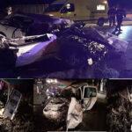 وفاة شخصين واصابة اثنين اخرين اثر حادث مرور